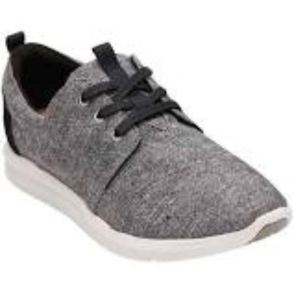 387ac20b723 TOMS Grey Diamond Melange Del Rey Sneakers 8. M 5b449e1a8ad2f9776607deb9